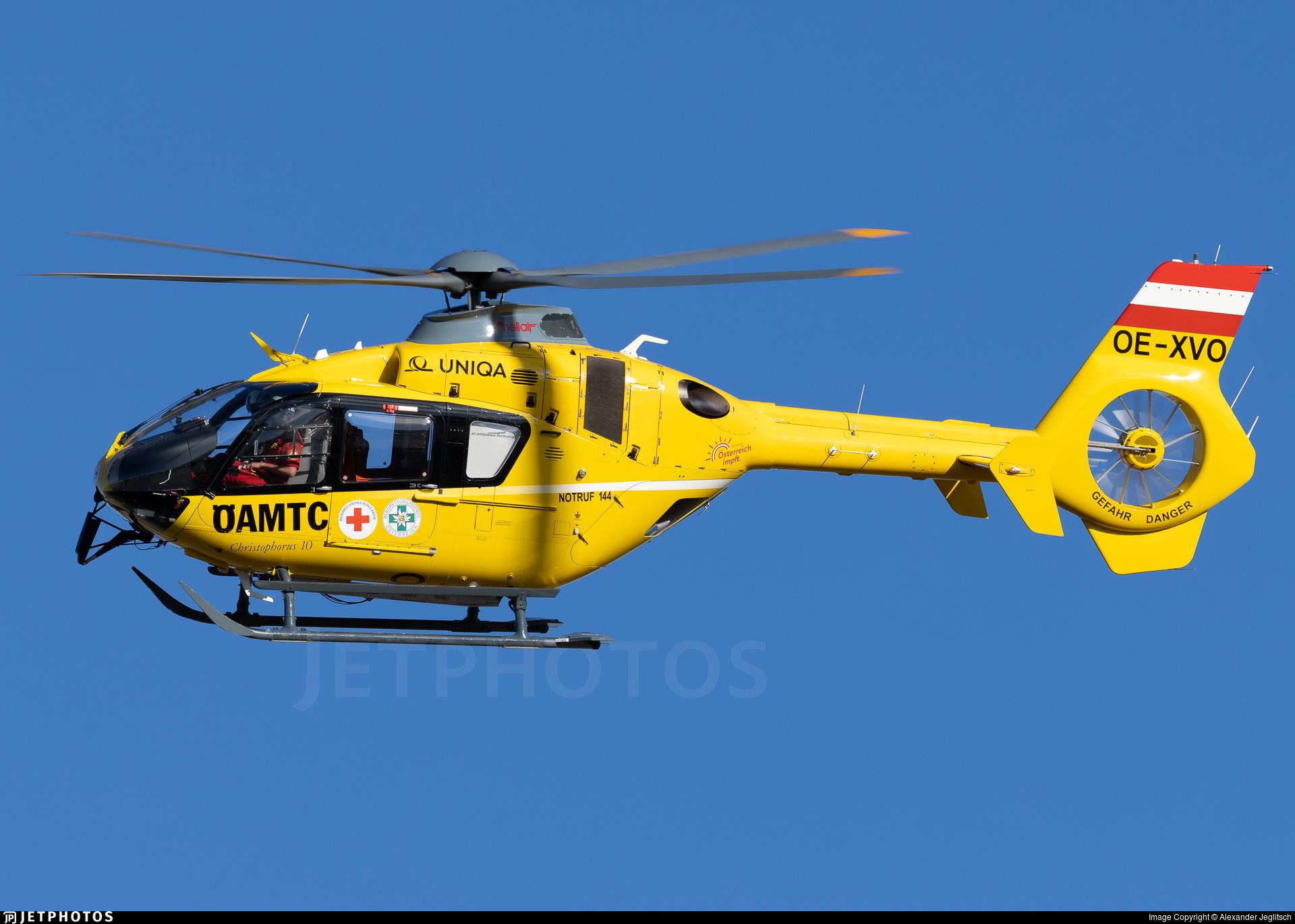 OE-XVO - Eurocopter EC 135T2 - Christophorus Flugrettungsverein (ÖAMTC)