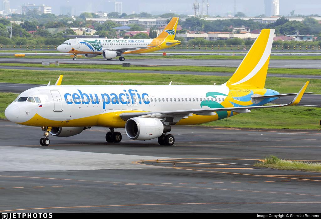 RP-C3274 - Airbus A320-214 - Cebu Pacific Air