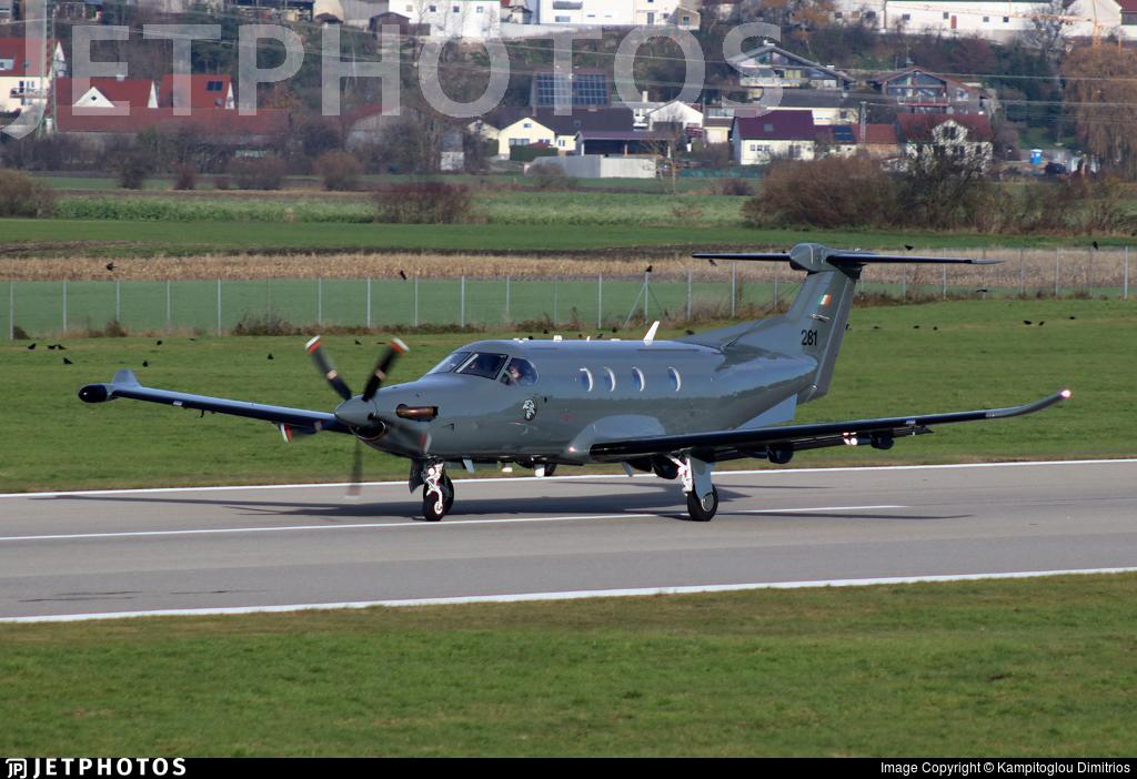 281 - Pilatus PC-12/47E - Ireland - Air Force