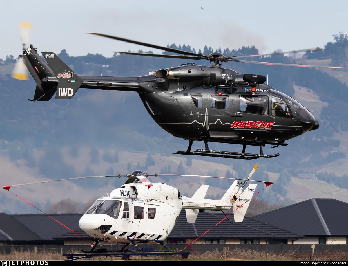 ZK-IWD - Eurocopter EC 145 - Helicopters Otago