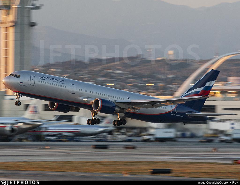 VP-BAX - Boeing 767-36N(ER) - Aeroflot