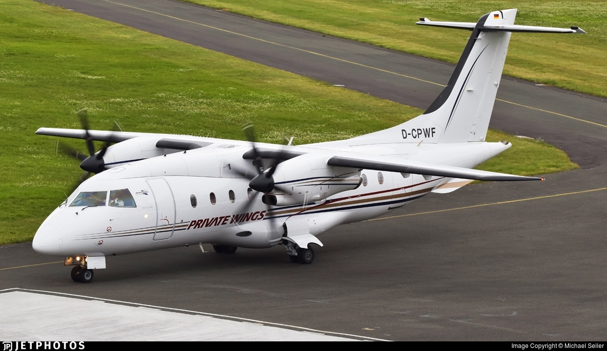 D-CPWF - Dornier Do-328-110 - Private Wings