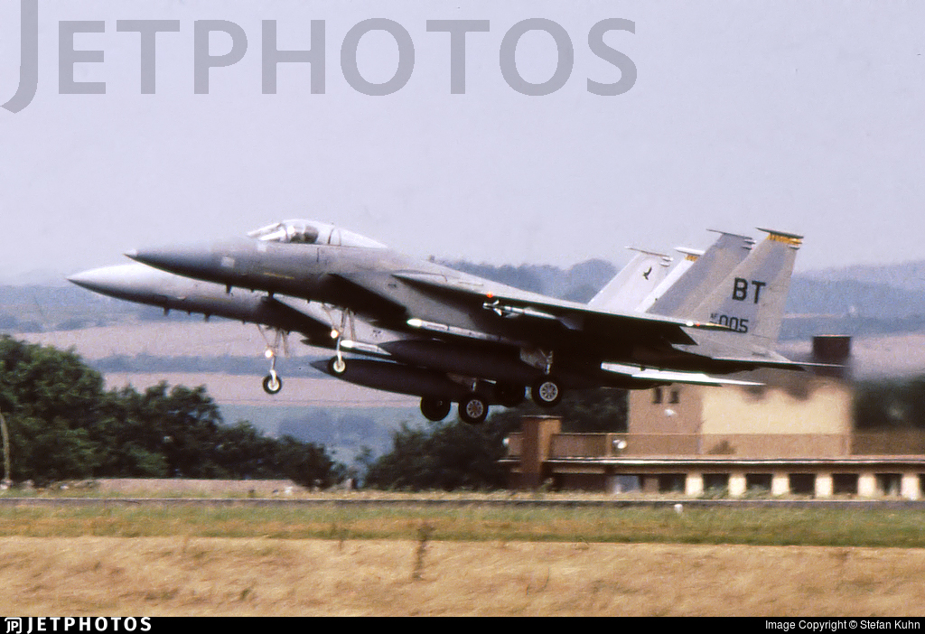 84-0005 - McDonnell Douglas F-15C Eagle - United States - US Air Force (USAF)