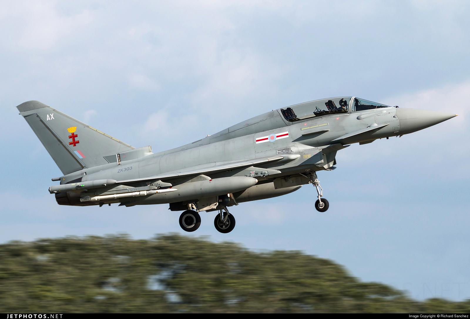 ZK303 - Eurofighter Typhoon T.3 - United Kingdom - Royal Air Force (RAF)