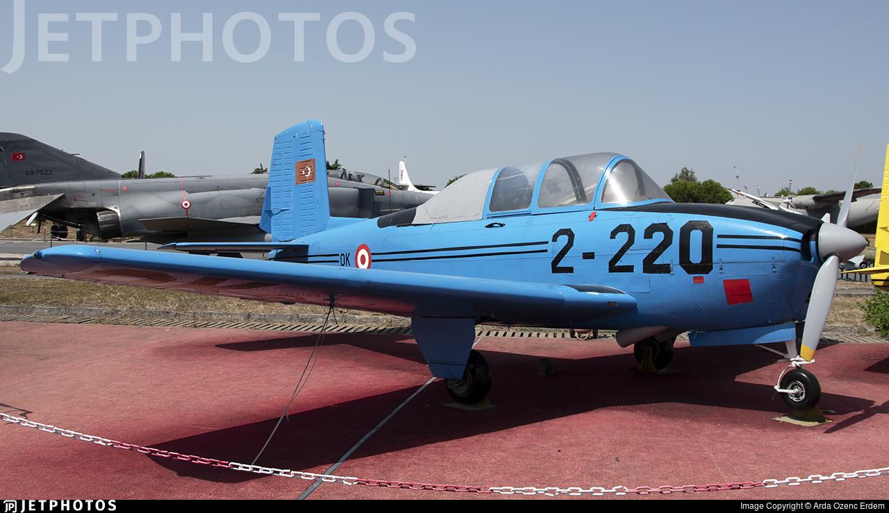 54-5220 - Beechcraft T-34A Mentor - Turkey - Air Force