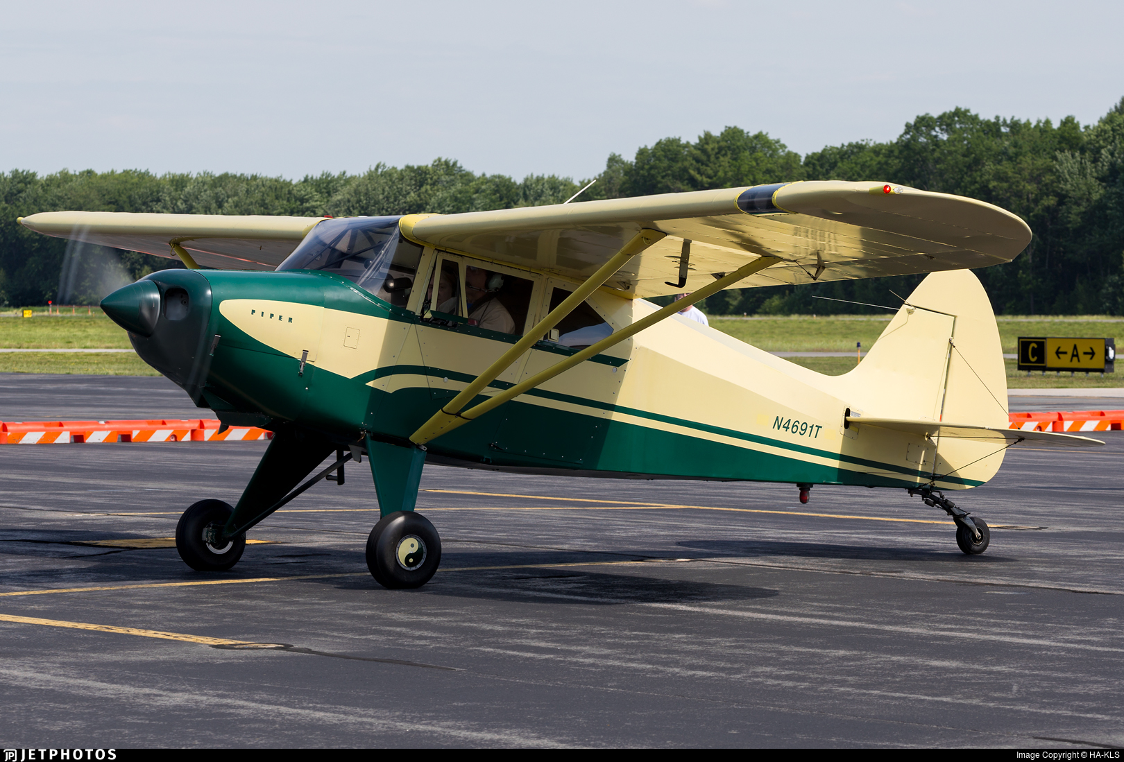 N4691T - Piper PA-22-150 Pacer - Private