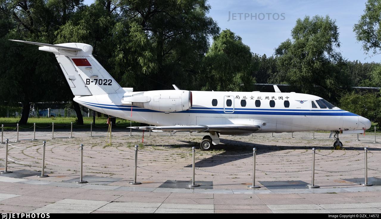 B-7022 - Cessna 650 Citation VI - Civil Aviation Administration of China (CAAC)