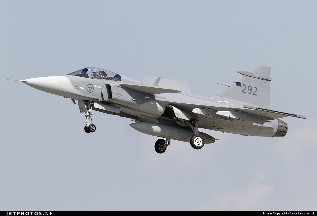 39292 - Saab JAS-39D Gripen - Sweden - Air Force