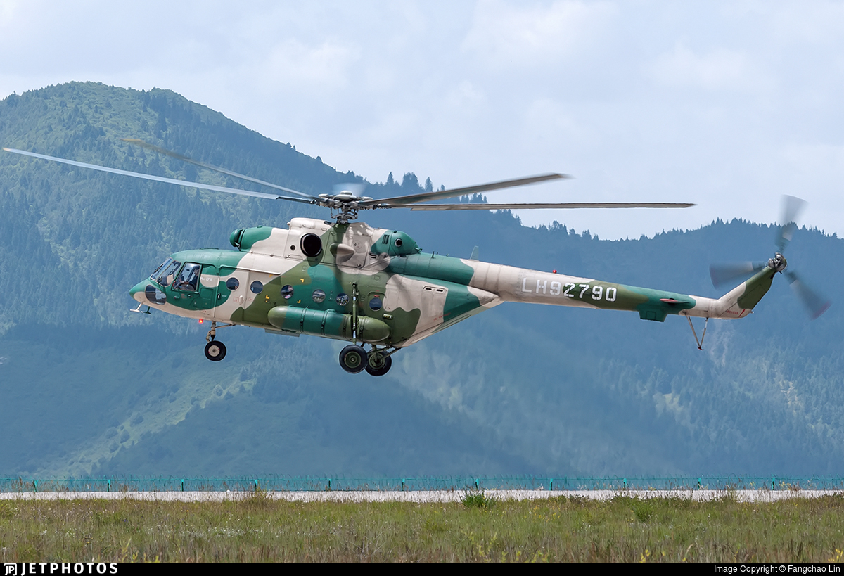 LH92790 - Mil Mi-171E Baikal - China - Army
