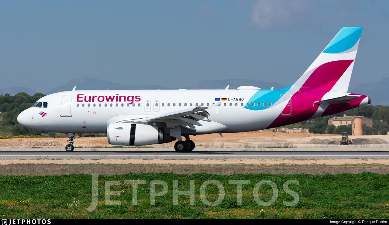 D-AGWO - Airbus A319-132 - Eurowings (Germanwings)