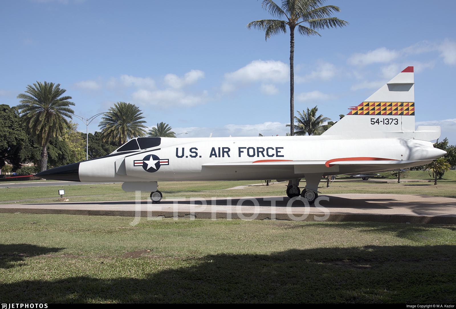 54-1373 - Convair F-102A Delta Dagger - United States - US Air
