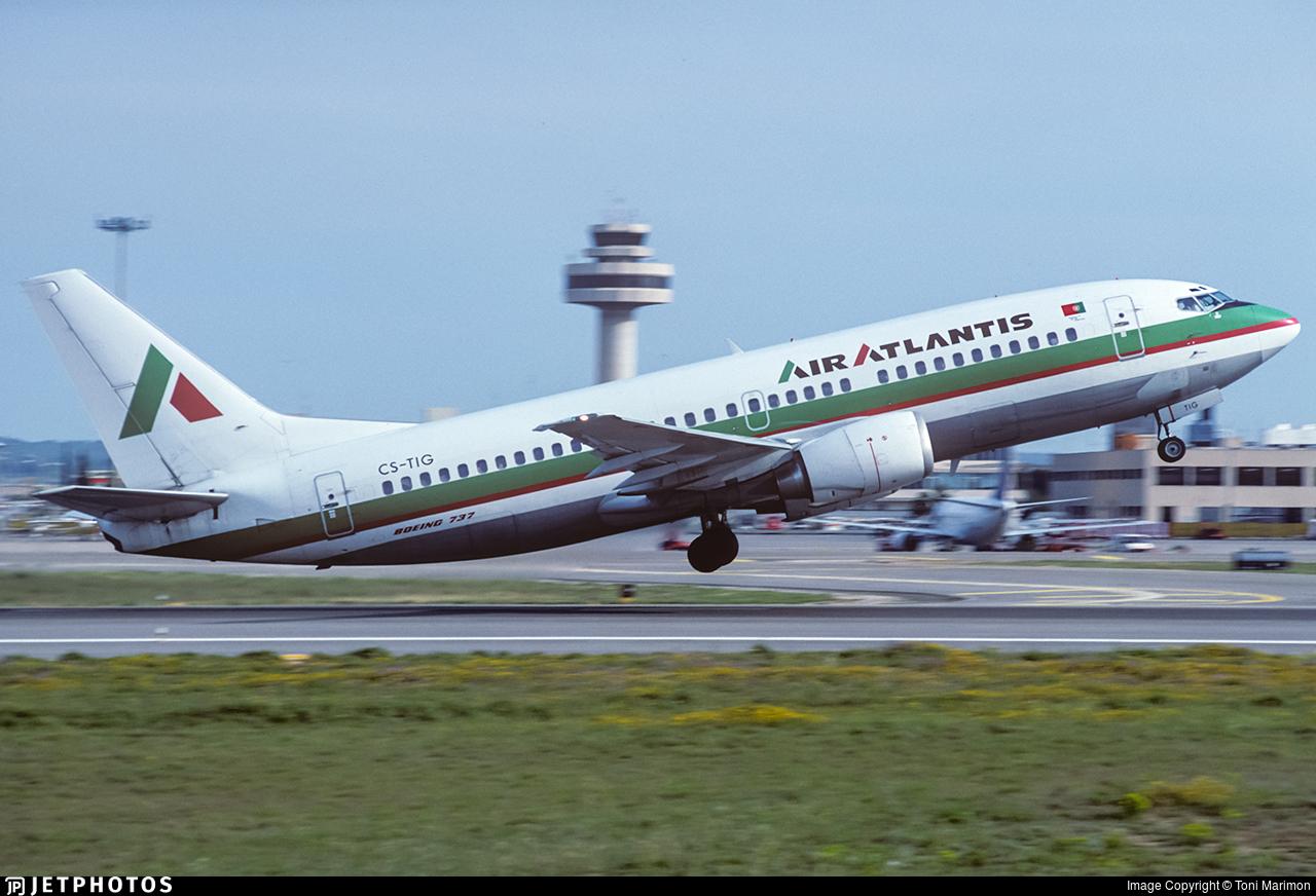 CS-TIG - Boeing 737-3K9 - Air Atlantis