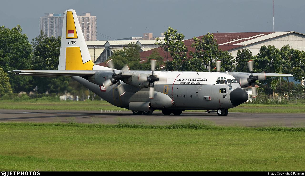 A-1316 - Lockheed C-130H Hercules - Indonesia - Air Force