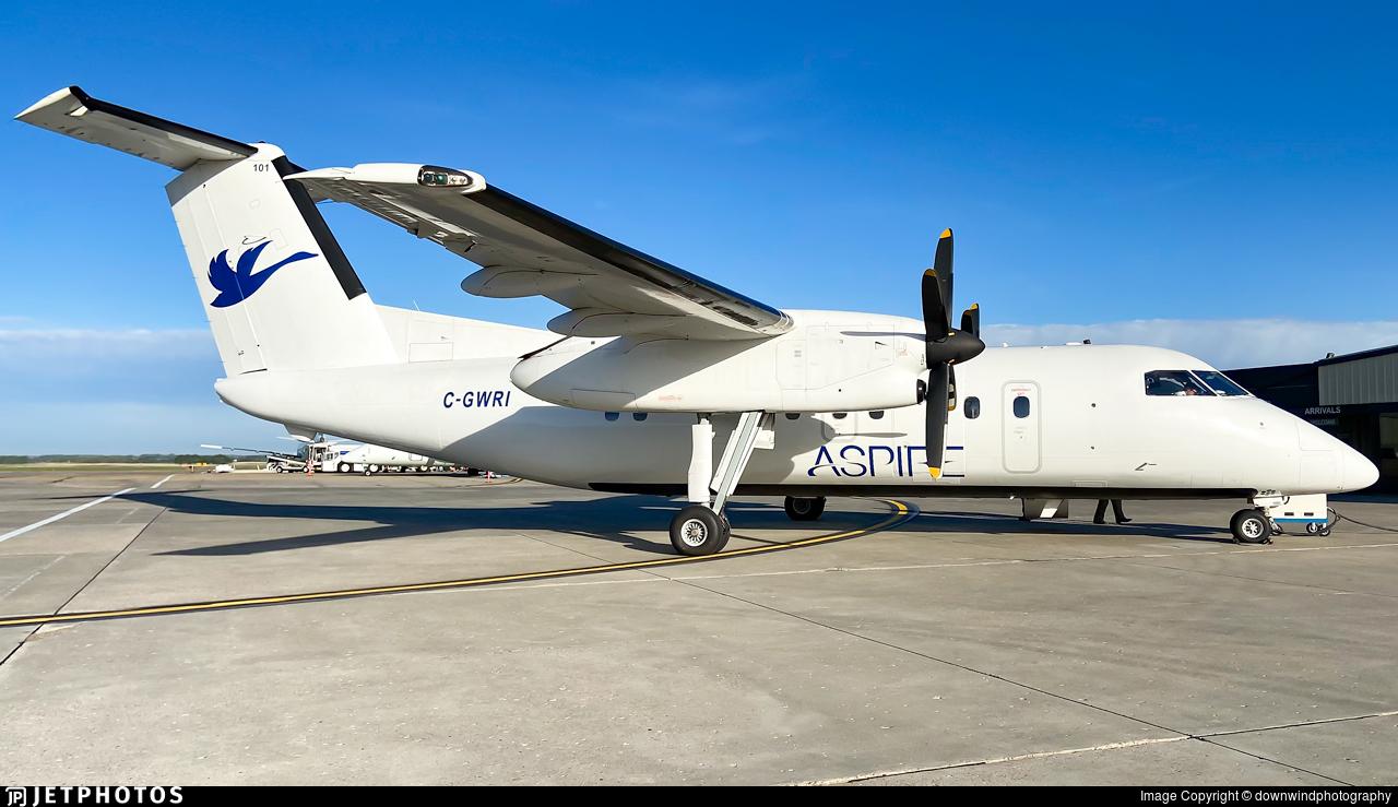 C-GWRI - Bombardier Dash 8-103 - Regional 1 Airlines