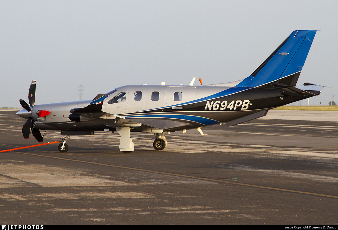 N694PB - Socata TBM-900 - Private
