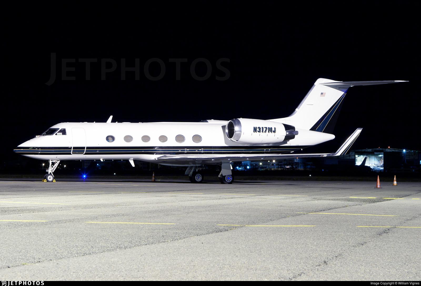 N317MJ - Gulfstream G-IV - Private