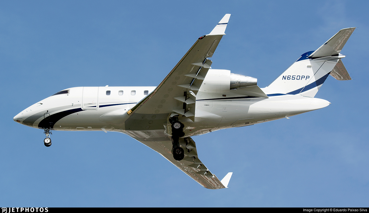 N650PP - Bombardier CL-600-2B16 Challenger 650 - Private