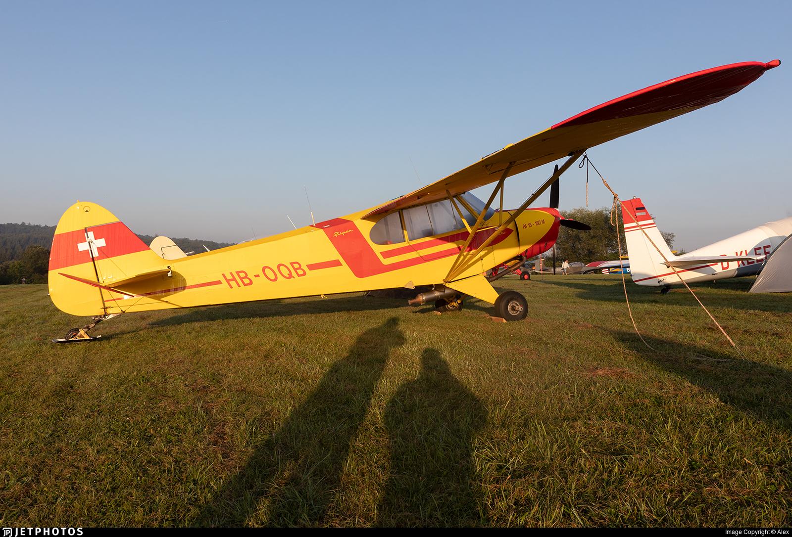 HB-OQB - Piper PA-18-180M Super Cub - Segelfluggruppe Thun