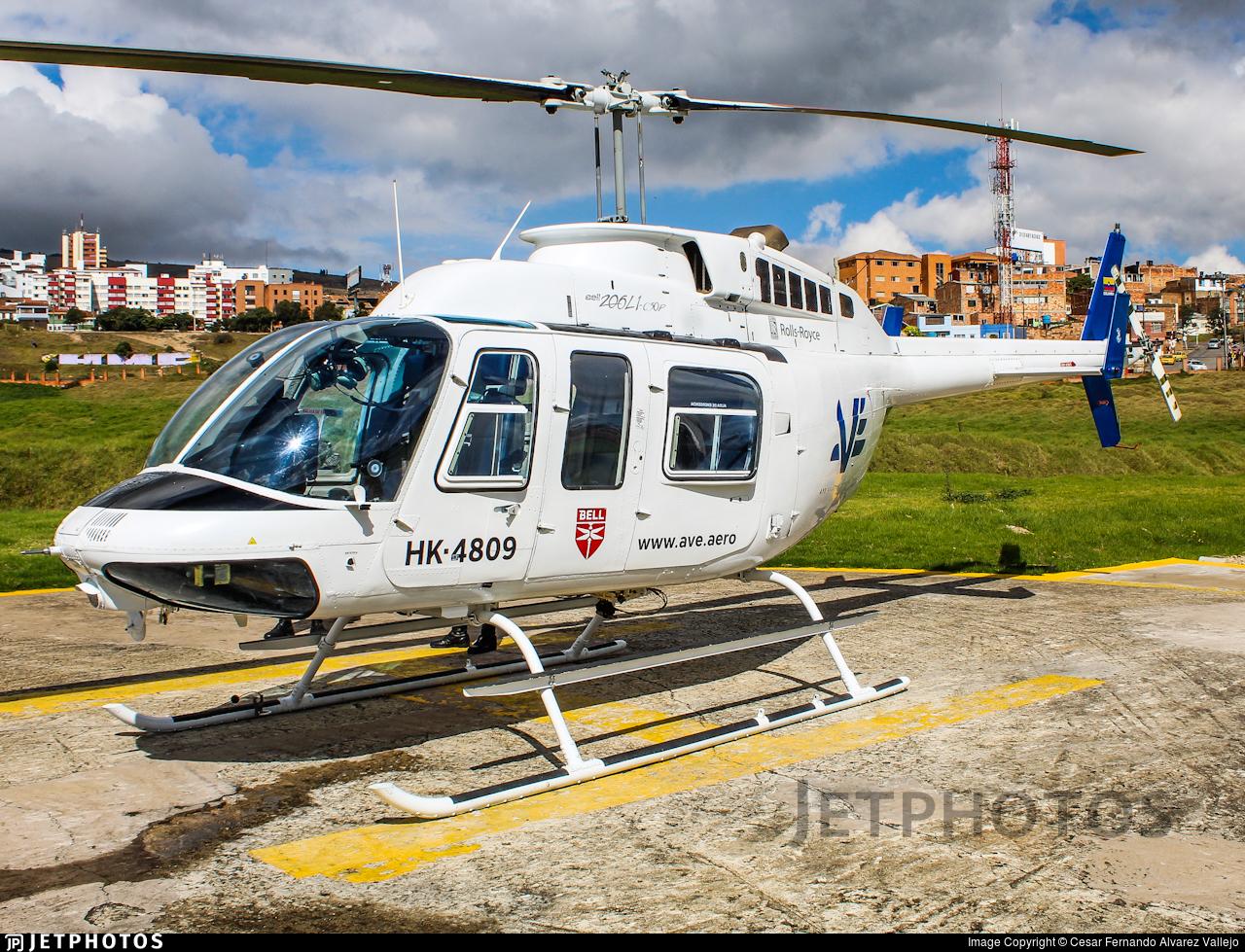 HK-4809 - Bell 206L-1 LongRanger II - AVE (Aviación Especializada)