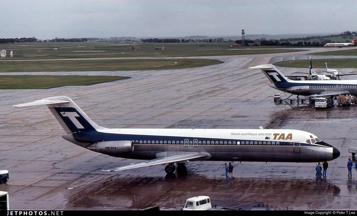 VH-TJT - McDonnell Douglas DC-9-31 - Trans Australia Airlines (TAA)