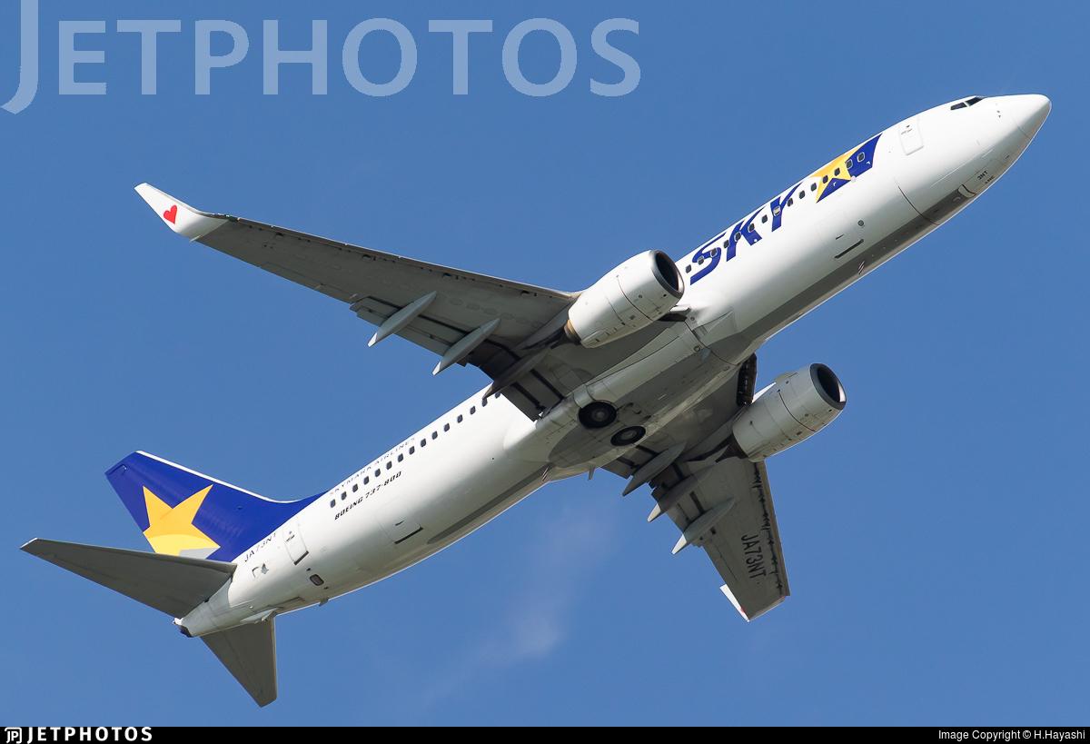 JA73NT - Boeing 737-86N - Skymark Airlines