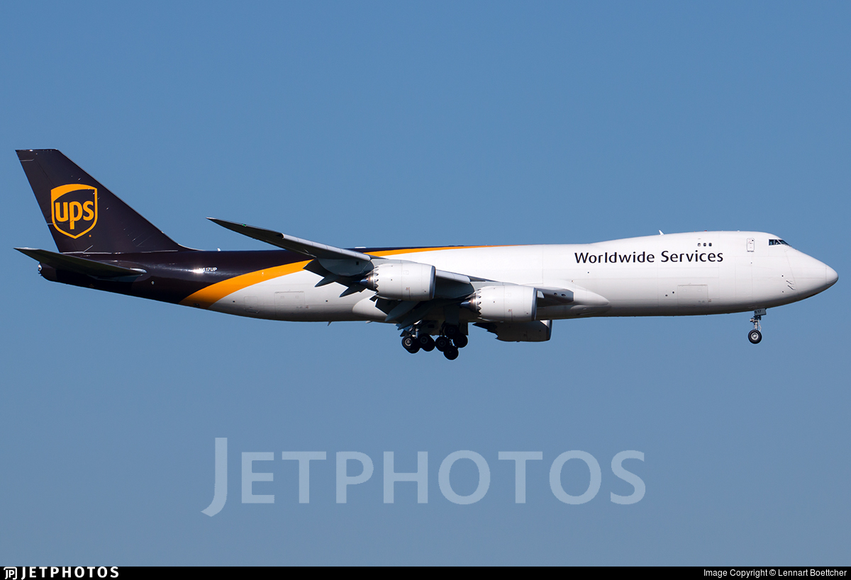 N617UP - Boeing 747-84AF - United Parcel Service (UPS)