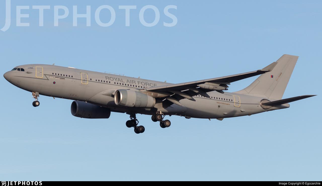 ZZ333 - Airbus A330-243 (MRTT) Voyager KC.2 - United Kingdom - Royal Air Force (RAF)