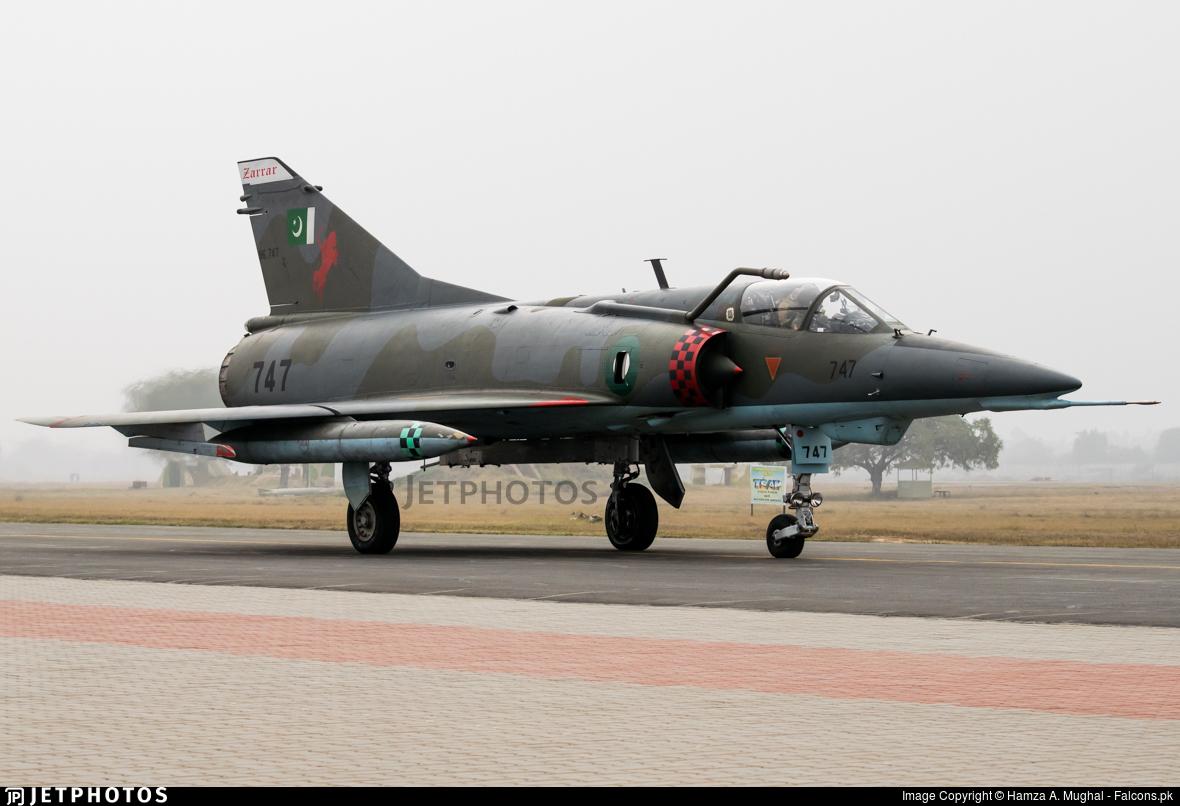 96-747 - Dassault Mirage 5VEF - Pakistan - Air Force