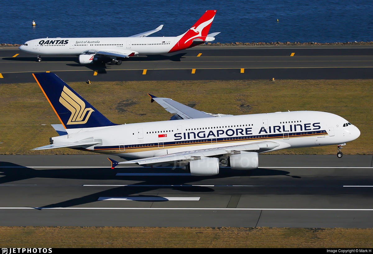 9V-SKI | Airbus A380-841 | Singapore Airlines | Mark H | JetPhotos