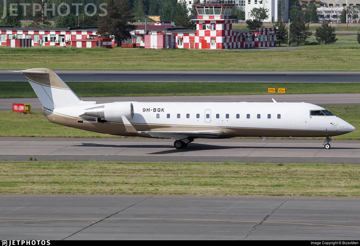 9H-BGK - Bombardier CL-600-2B19 Challenger 850 - Blue Square Aviation
