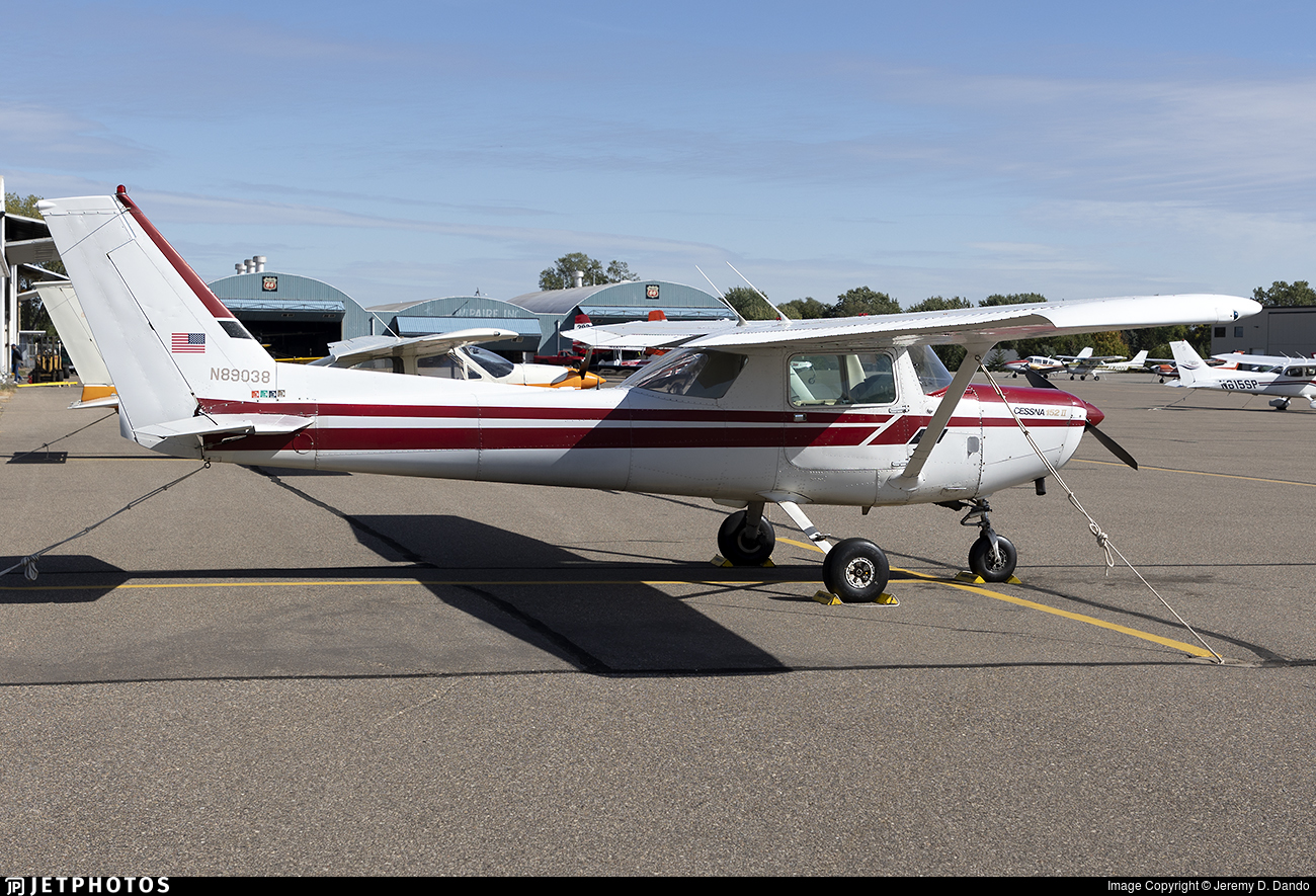 N89038 - Cessna 152 II - Private