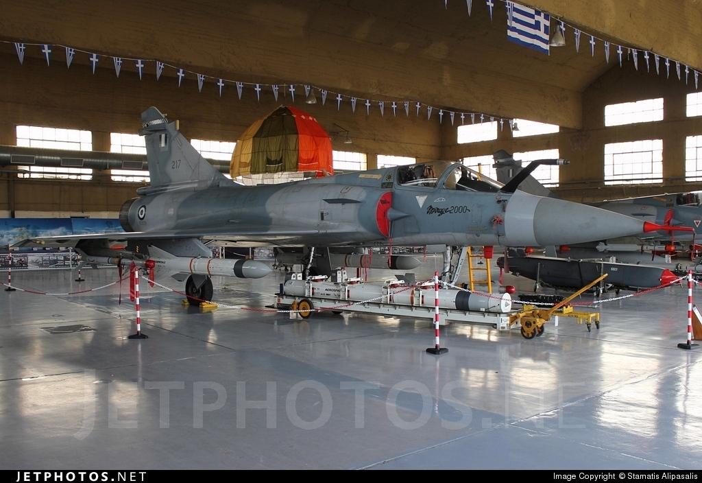 217 - Dassault Mirage 2000EG - Greece - Air Force