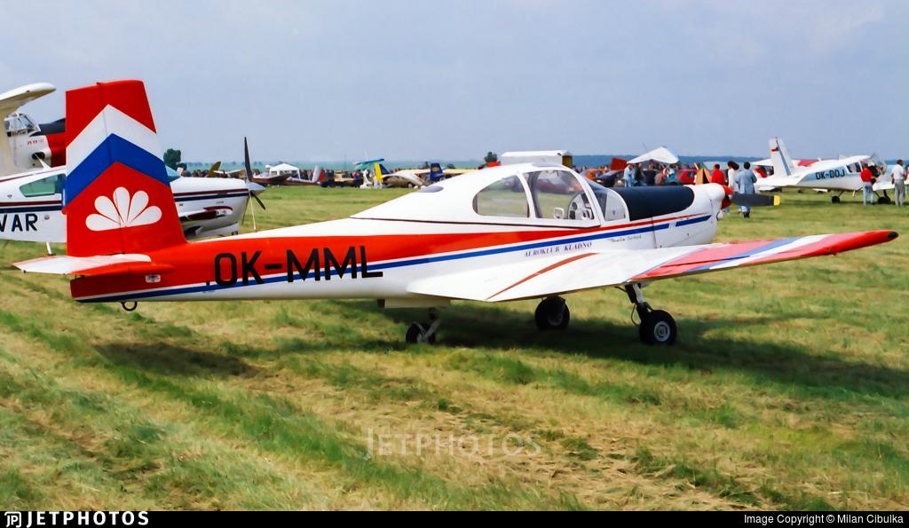 OK-MML - Orlican L-40 Meta-Sokol - Aeroklub Kladno