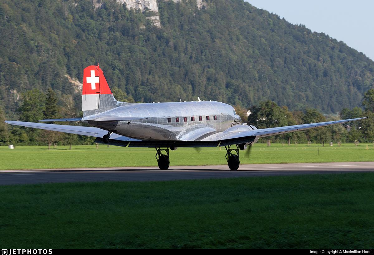 N431HM - Douglas DC-3C - Private