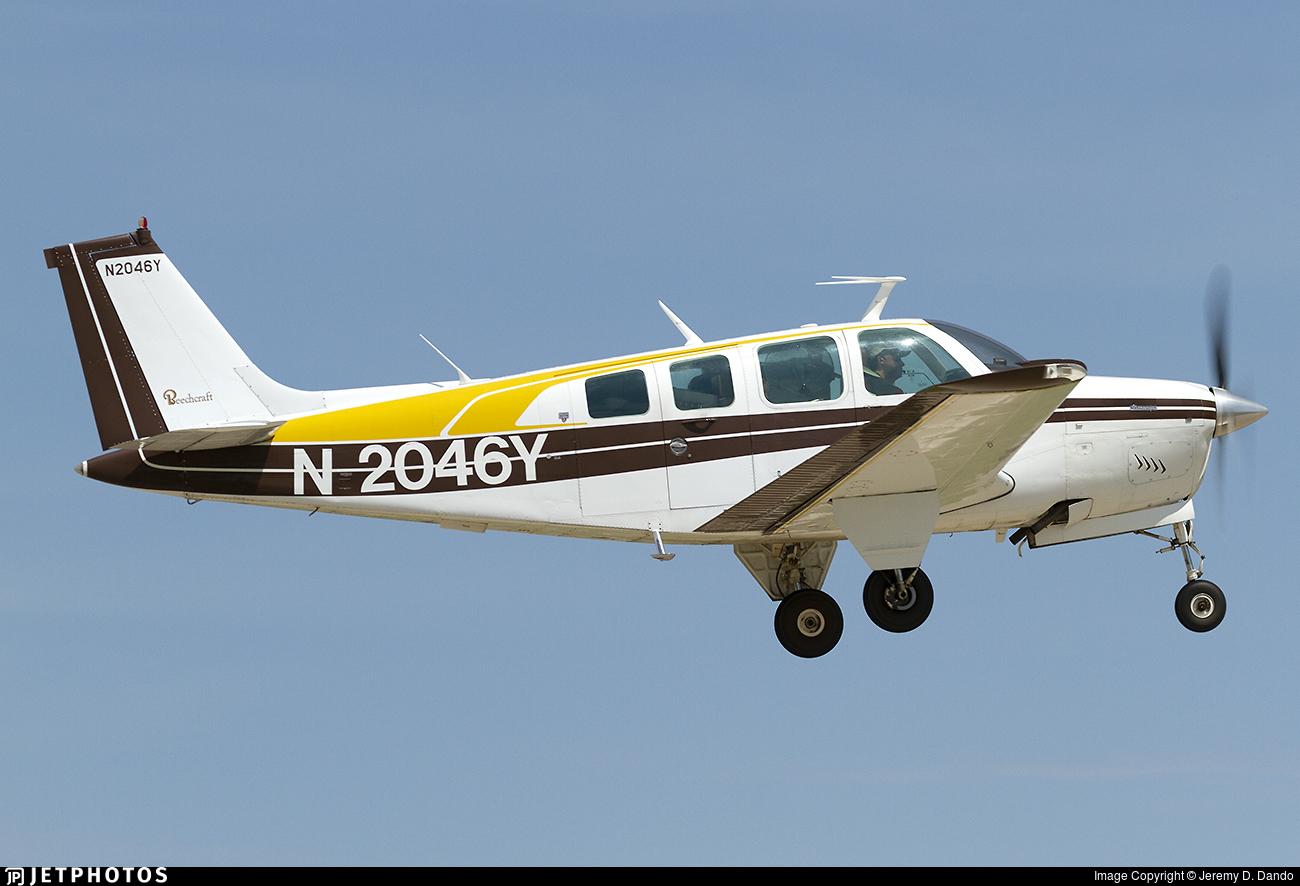 N2046Y - Beechcraft A36 Bonanza - Private