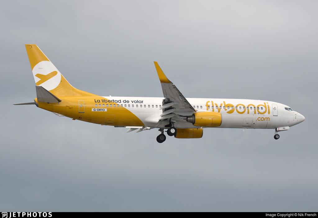 G-DRTO - Boeing 737-8JP - Flybondi