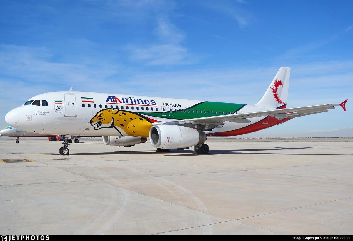 EP-TAC - Airbus A320-231 - ATA Airlines [Iran]