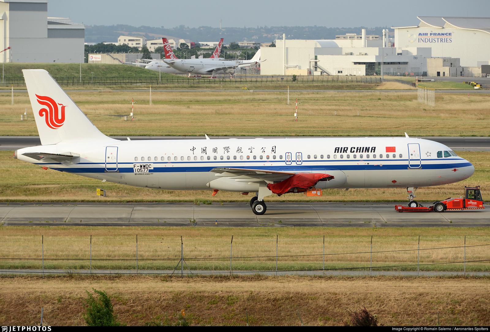 F-WWDC - Airbus A320-251N - Air China