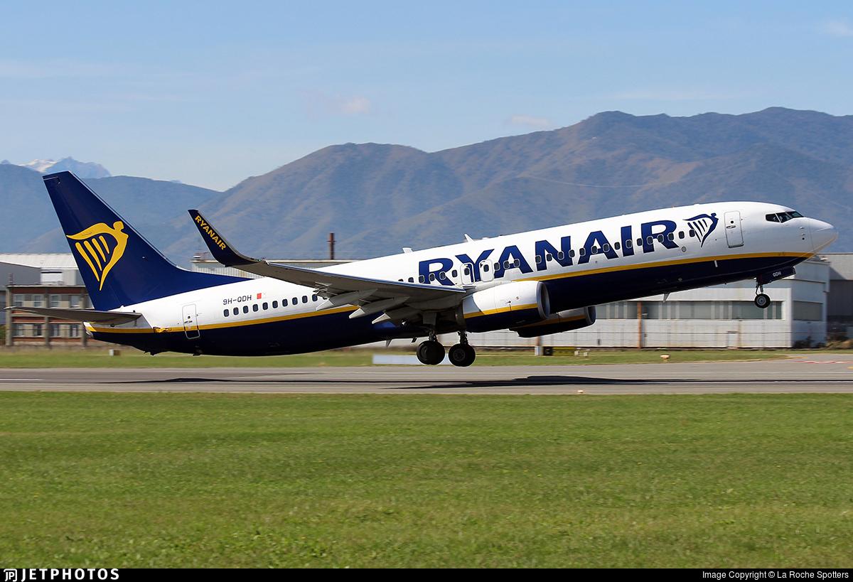 9H-QDH - Boeing 737-8AS - Ryanair (Malta Air)