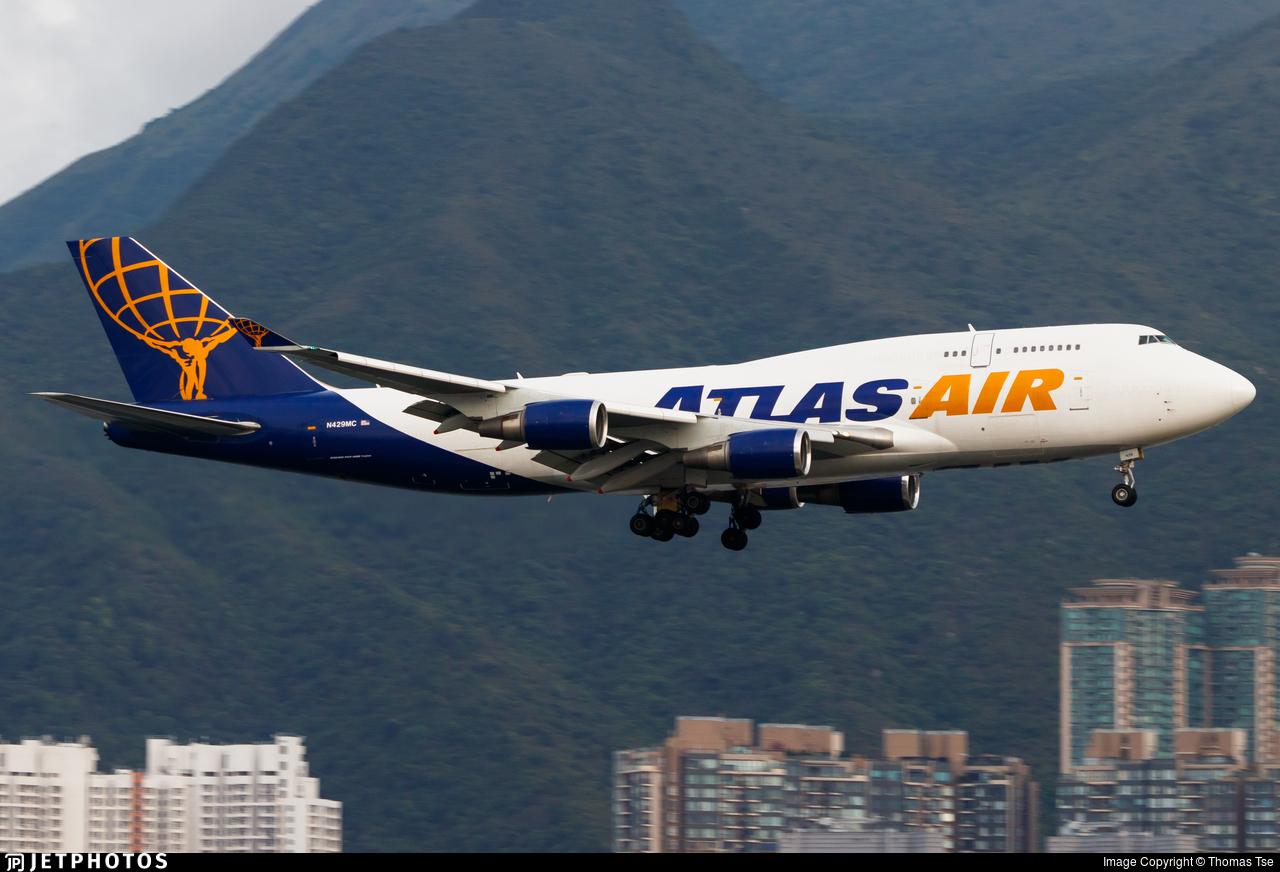 N429MC - Boeing 747-481(BCF) - Atlas Air