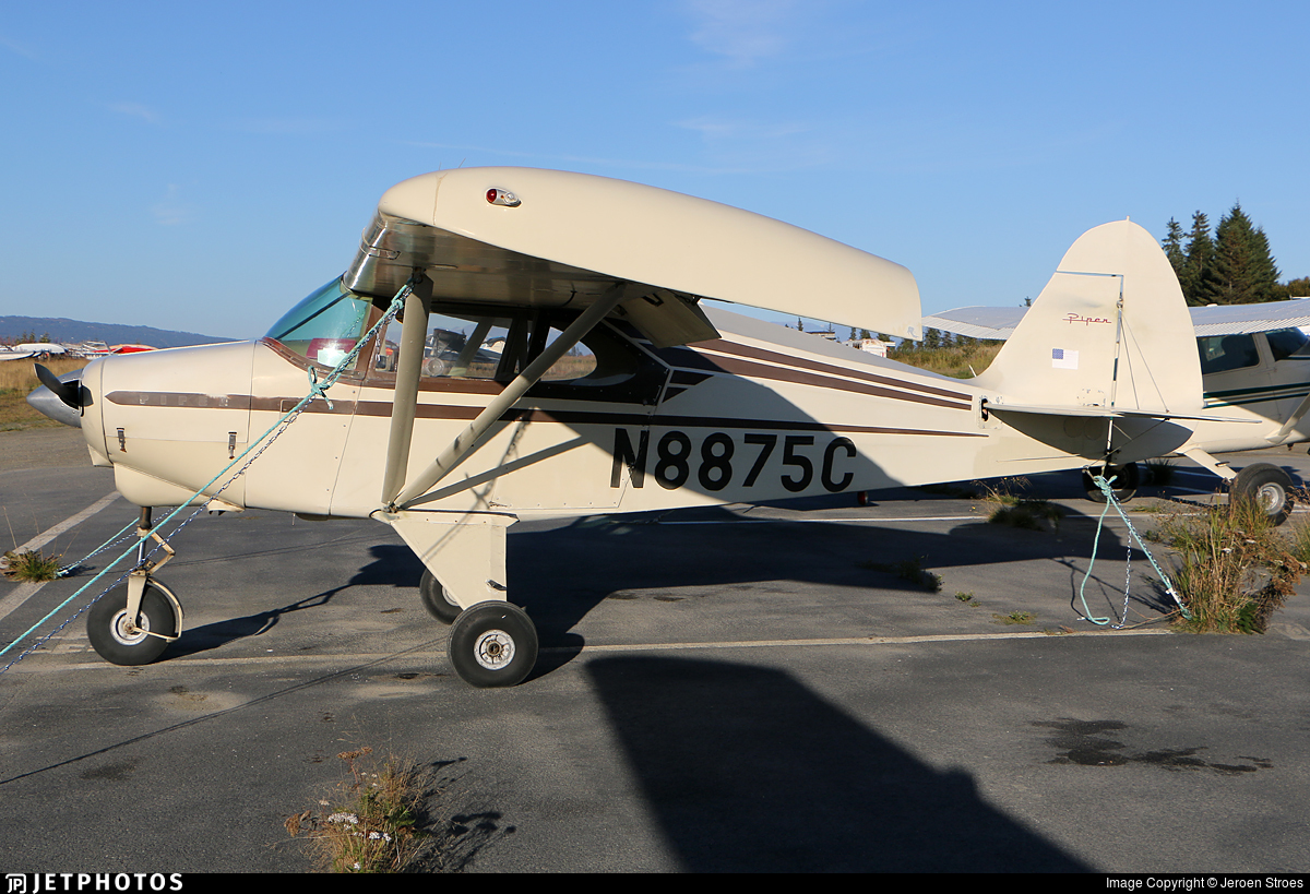 N8875C - Piper PA-22-135 Pacer - Private