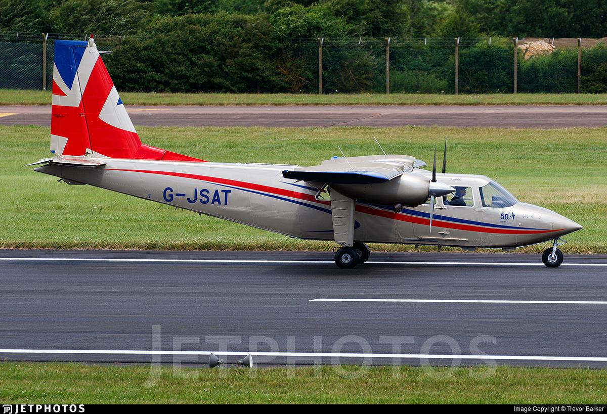 G-JSAT - Britten-Norman BN-2T Turbine Islander - Private