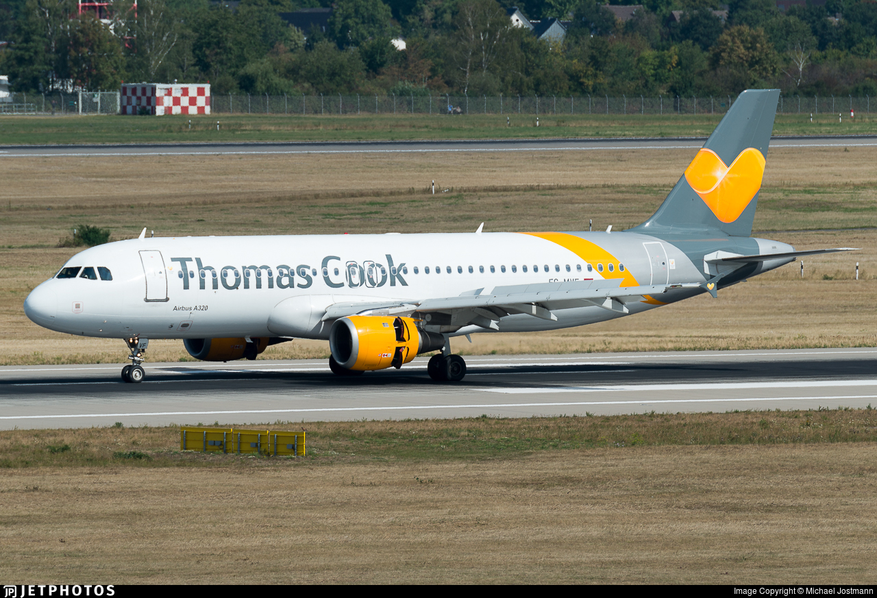 EC-MVF - Airbus A320-212 - Thomas Cook Airlines Balearics
