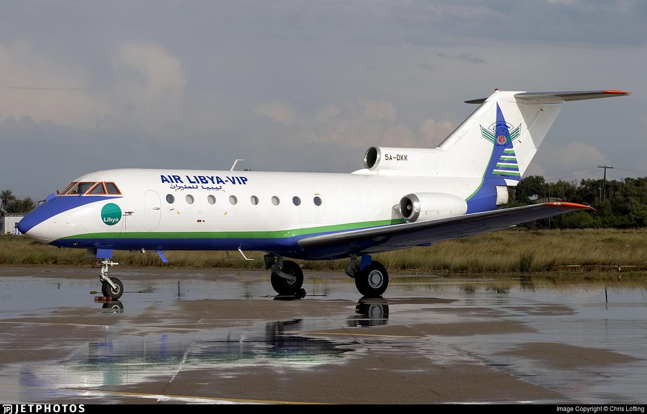 5A-DKK - Yakovlev Yak-40 - Air Libya
