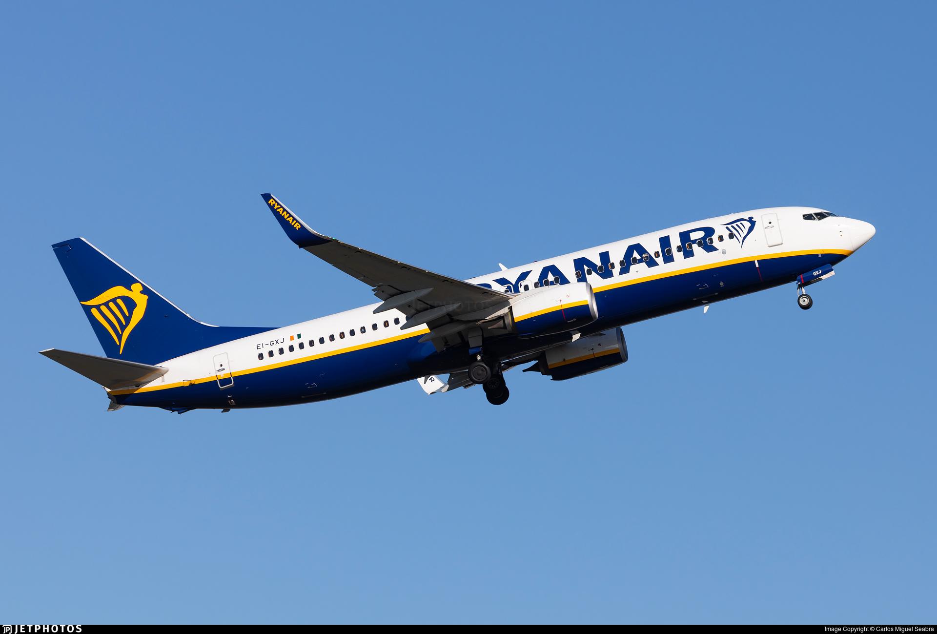 EI-GXJ - Boeing 737-8AS - Ryanair