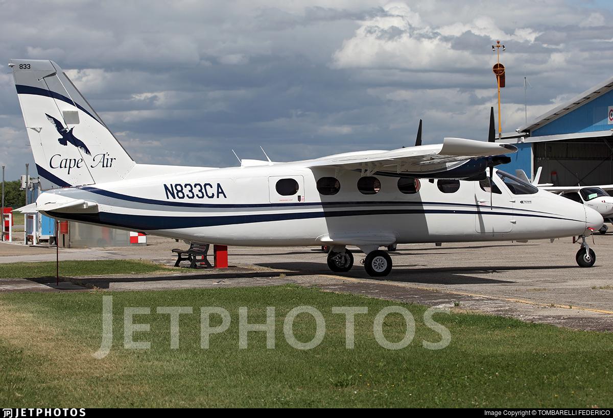 N833CA - Tecnam P2012 Traveller - Cape Air