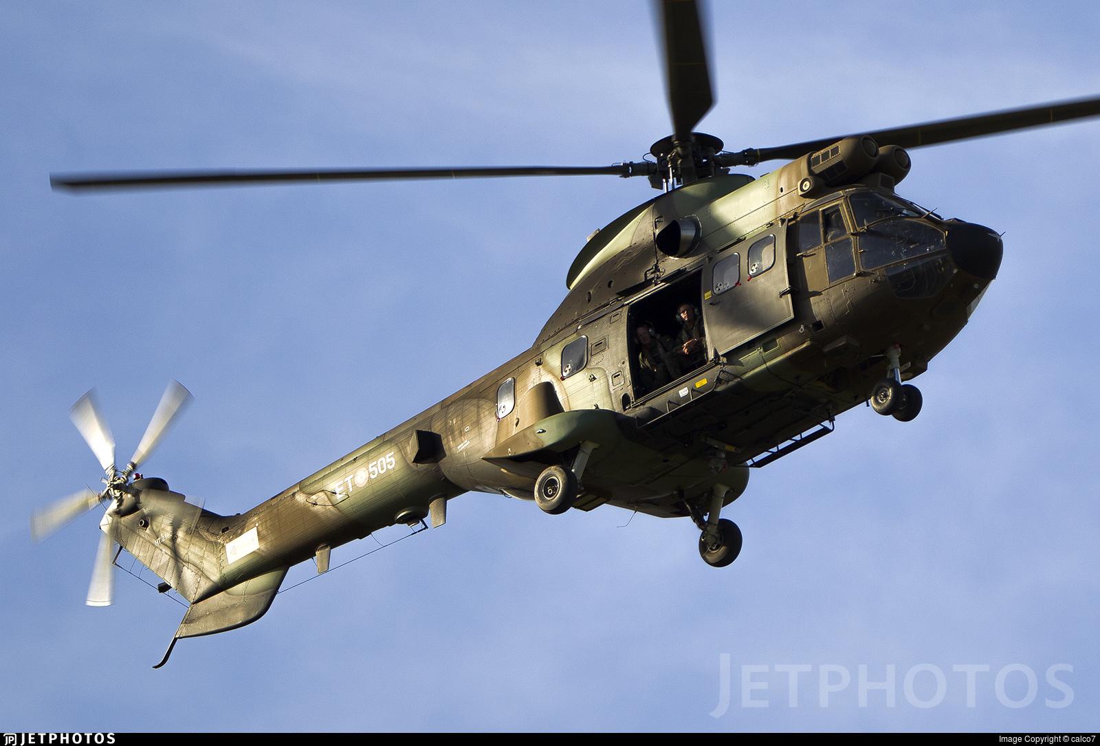 HT.21-03 - Aérospatiale AS 332B Super Puma - Spain - Army