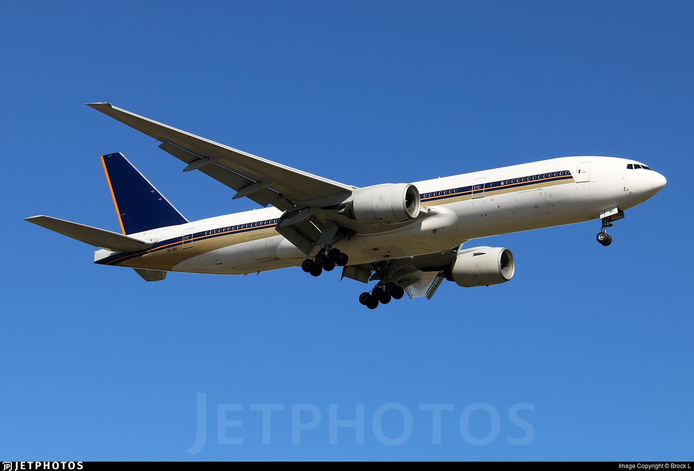 ZK-OKI - Boeing 777-212(ER) - Air New Zealand