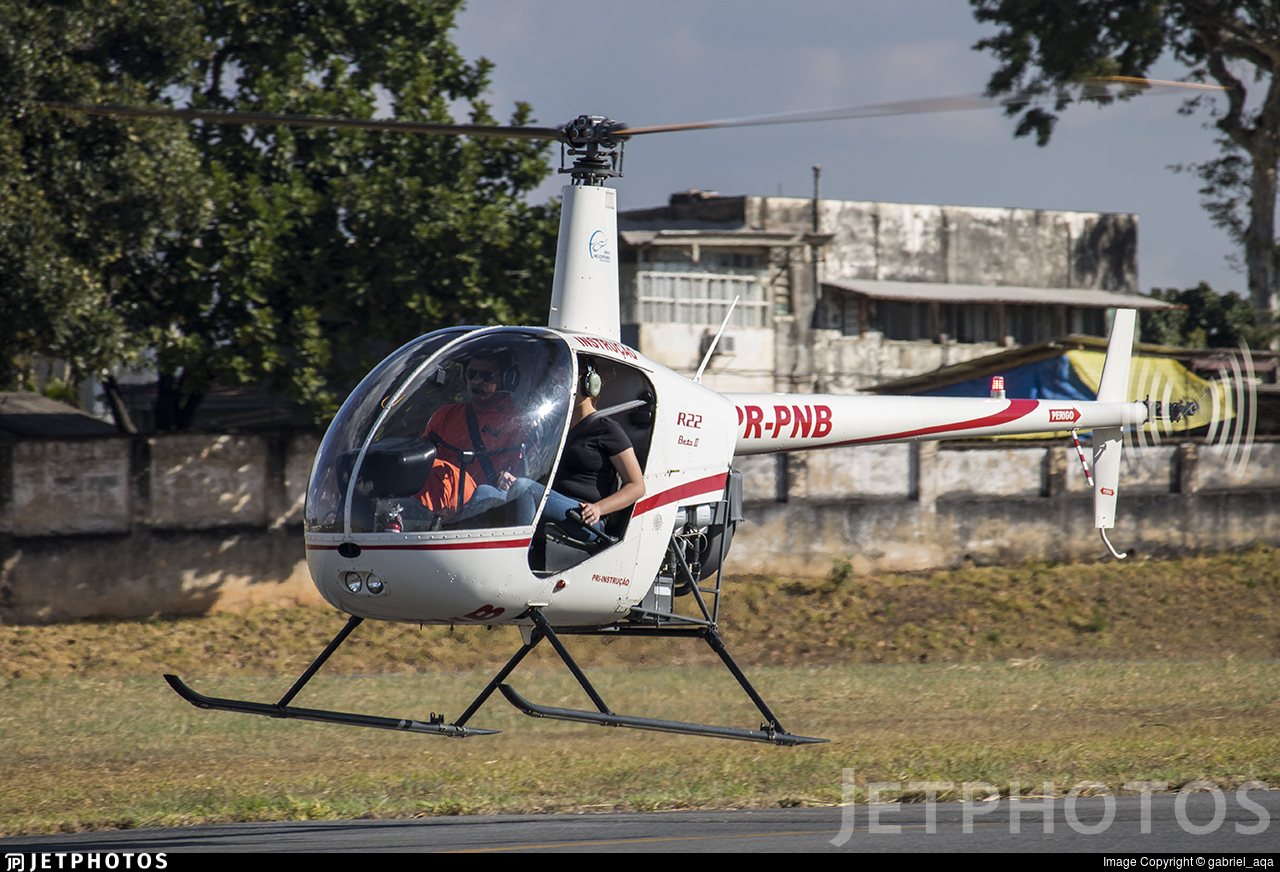 PR-PNB - Robinson R22 Beta II - Private