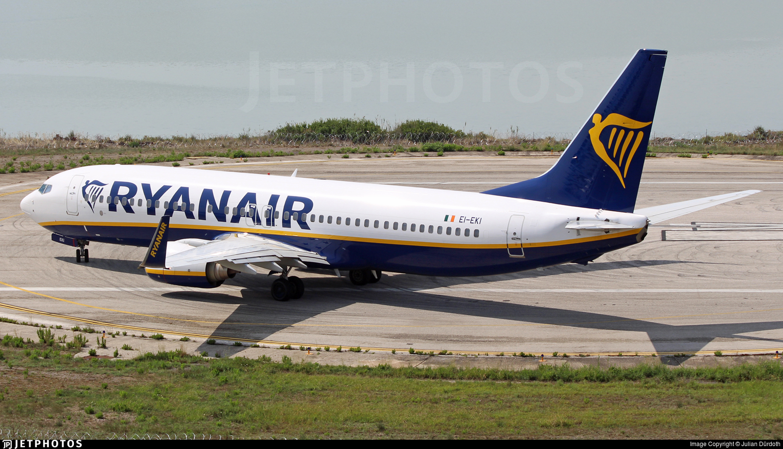EI-EKI - Boeing 737-8AS - Ryanair